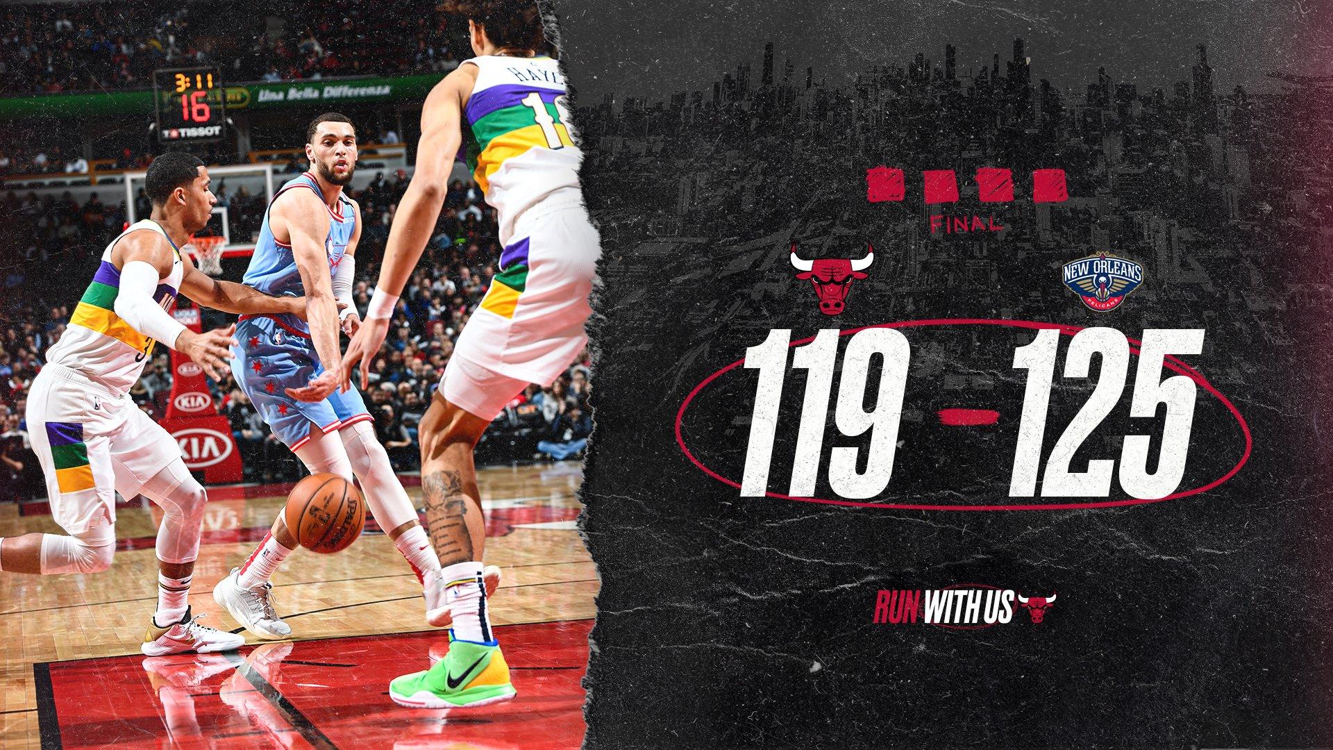 Chicago Bulls vs. Pelicans